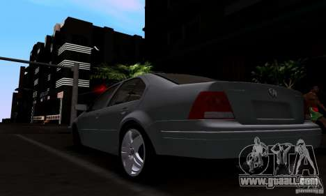 Volkswagen Bora 1.8T for GTA San Andreas left view