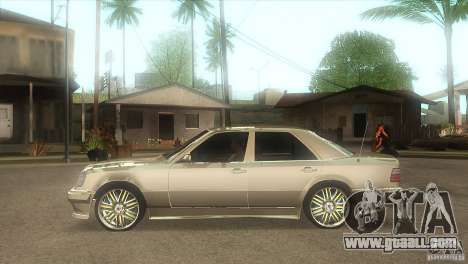 Mercedes-Benz E500 VIP Class for GTA San Andreas left view