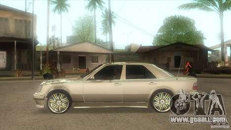Mercedes-Benz E500 VIP Class for GTA San Andreas left view