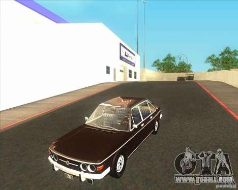 Tatra 613-2 for GTA San Andreas