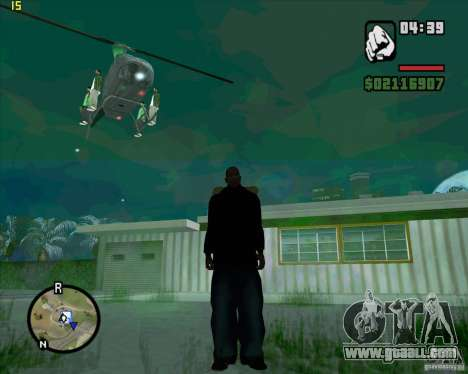 Helicopter help for GTA San Andreas forth screenshot