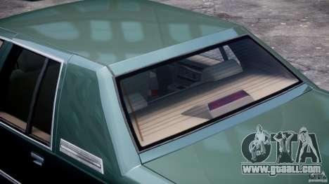 Buick Roadmaster Sedan 1996 v1.0 for GTA 4 wheels