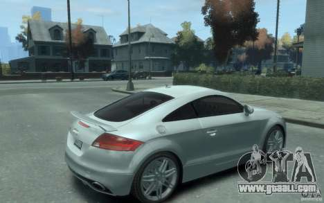Audi TT-RS for GTA 4 right view