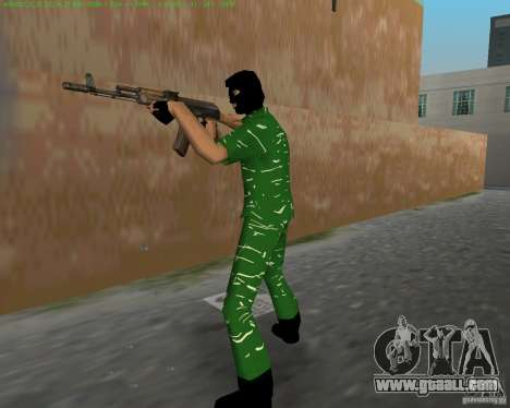 AK-74 for GTA Vice City fifth screenshot
