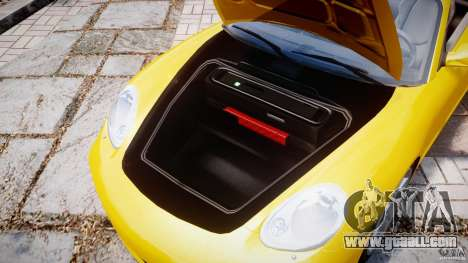 Porsche Boxster S for GTA 4 back view