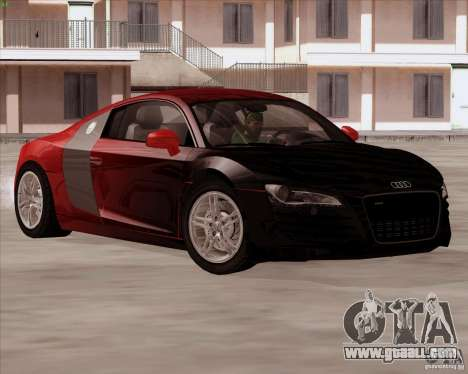 Audi R8 Production for GTA San Andreas back view