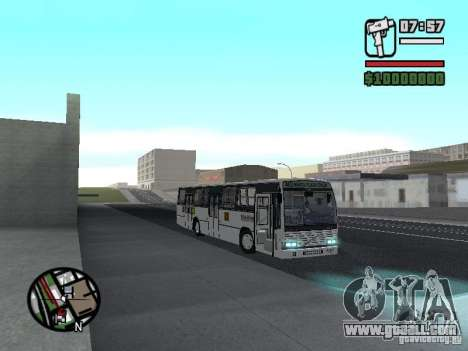 CAIO Padron Vituria Volvo B58 for GTA San Andreas back left view
