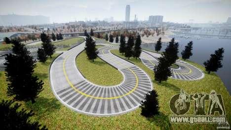 Edem Hill Drift Track for GTA 4 fifth screenshot