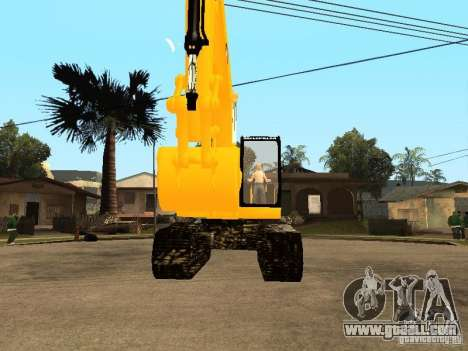 Excavator CAT for GTA San Andreas right view