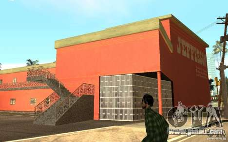 UGP Moscow New Jefferson Motel for GTA San Andreas forth screenshot