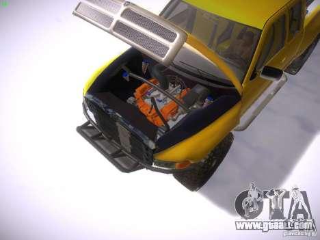 Dodge Ram Prerunner for GTA San Andreas right view