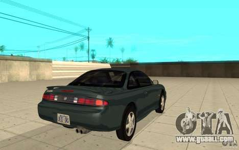 Nissan Silvia S14 for GTA San Andreas back left view
