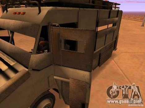 Monster Van for GTA San Andreas interior