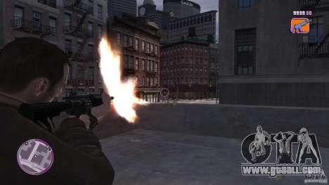 VC Style Radar/HUD (2 skins) for GTA 4 third screenshot