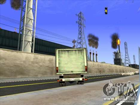 Yankee based on GMC for GTA San Andreas inner view