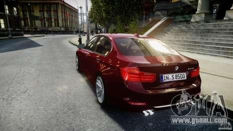 BMW 335i 2013 v1.0 for GTA 4 back left view