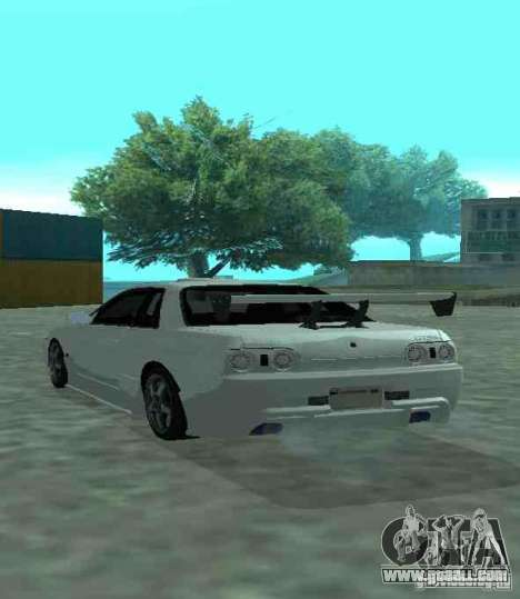 Nissan Skyline R32 GT-R for GTA San Andreas upper view