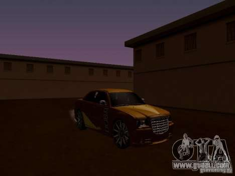 Chrysler 300 c SRT8 2007 for GTA San Andreas inner view