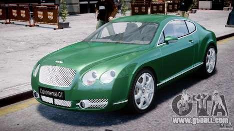 Bentley Continental GT for GTA 4
