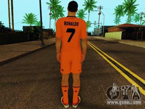 Cristiano Ronaldo v3 for GTA San Andreas forth screenshot