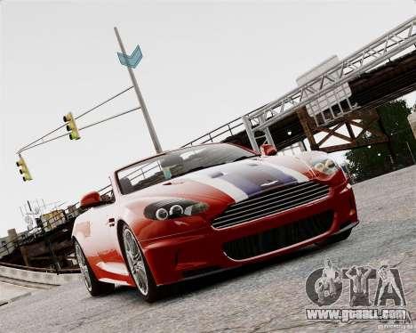 Aston Martin DBS Volante 2010 v1.5 Bonus Version for GTA 4 left view