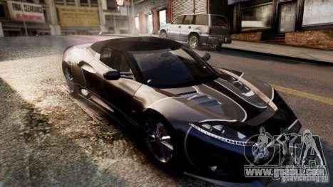 Spyker C8 Aileron Spyder Final for GTA 4 upper view
