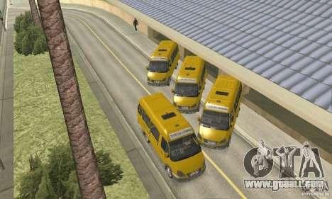 Gaz 2705 Minibus for GTA San Andreas right view