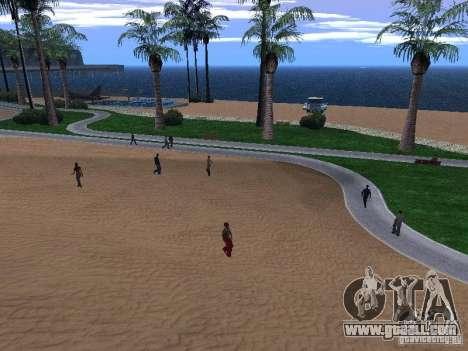 New Beach texture v1.0 for GTA San Andreas