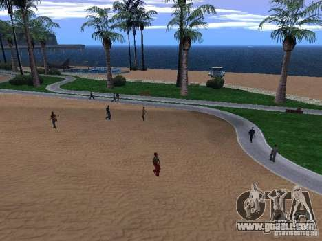 New Beach texture v1.0 for GTA San Andreas second screenshot