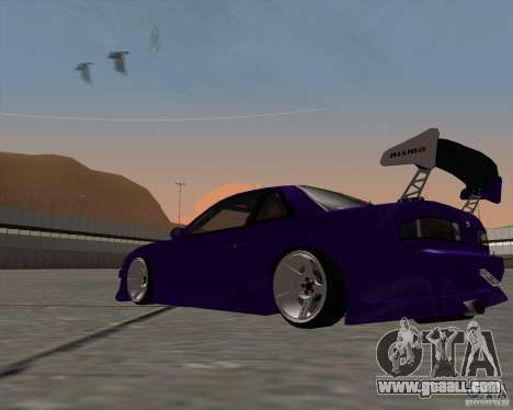 Nissan Silvia S13 Nismo tuned for GTA San Andreas right view