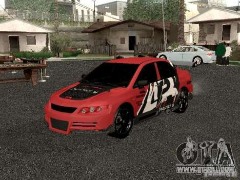 Mitsubishi Lancer Evo 8 for GTA San Andreas