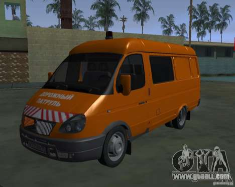 Gazelle 2705 highway patrol for GTA San Andreas