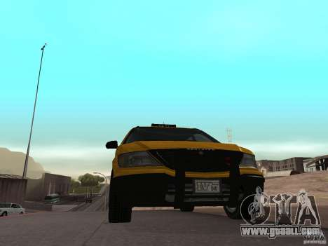 Cabbie from GTA 4 for GTA San Andreas back left view
