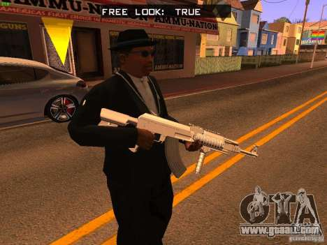 TeK Weapon Pack for GTA San Andreas