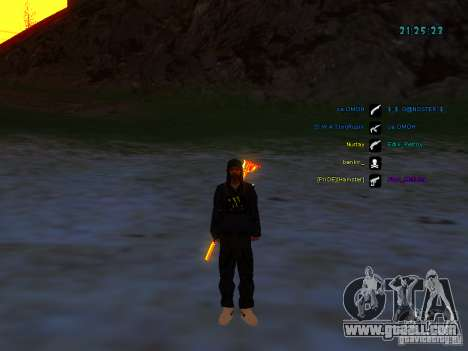 Skin pack for samp-rp for GTA San Andreas seventh screenshot
