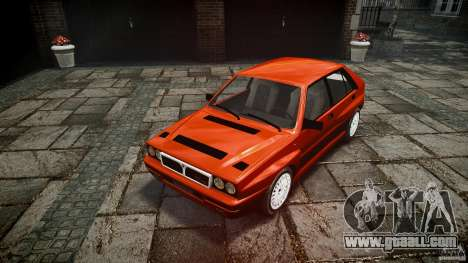 Lancia Delta HF 4WD for GTA 4 back view