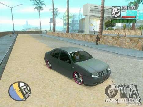 VW Bora Tuned for GTA San Andreas back left view