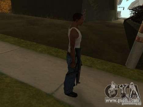 MP5A2 for GTA San Andreas second screenshot
