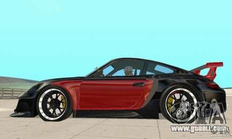 Porsche 911 GT2 NFS Undercover for GTA San Andreas back left view