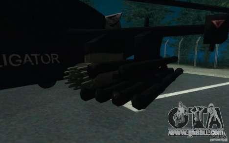 KA-52 ALLIGATOR v1.0 for GTA San Andreas right view