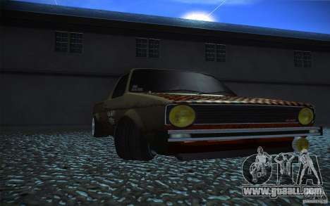 US Army Volkswagen Caddy for GTA San Andreas right view