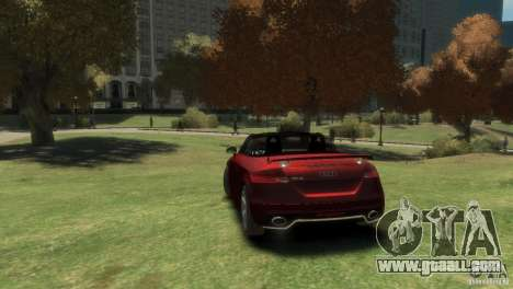 Audi TT RS Roadster for GTA 4 left view