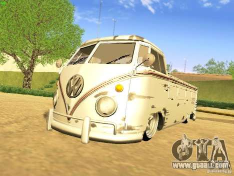 Volkswagen Type 2 Single Cab Rat for GTA San Andreas