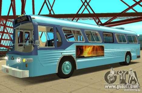 GMC Fishbowl City Bus 1976 for GTA San Andreas