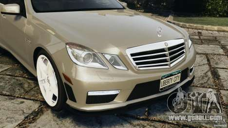 Mercedes-Benz E63 AMG for GTA 4 upper view