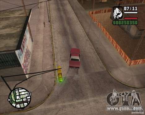 Camera as in GTA Chinatown Wars for GTA San Andreas fifth screenshot