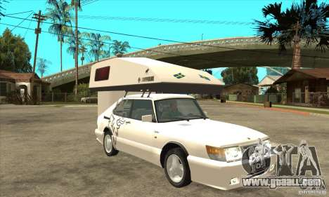 Saab 900 Turbo 1989 v.1.2 for GTA San Andreas side view