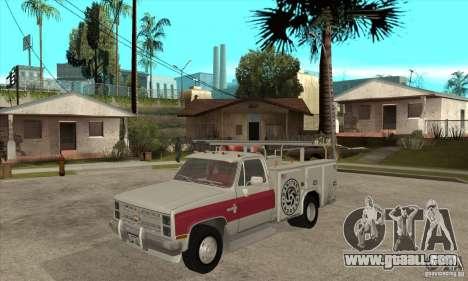 Chevrolet Silverado - utility for GTA San Andreas