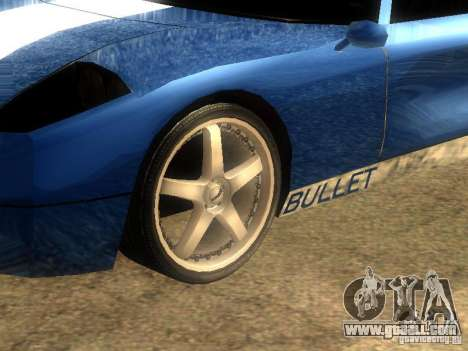 Bullet GT Drift for GTA San Andreas left view
