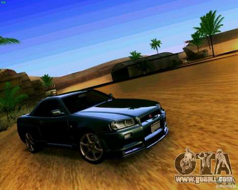 ENBSeries by S.T.A.L.K.E.R for GTA San Andreas